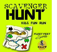 Scavenger Hunt Kids Fun Run