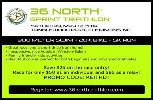 36 North Sprint Triathlon