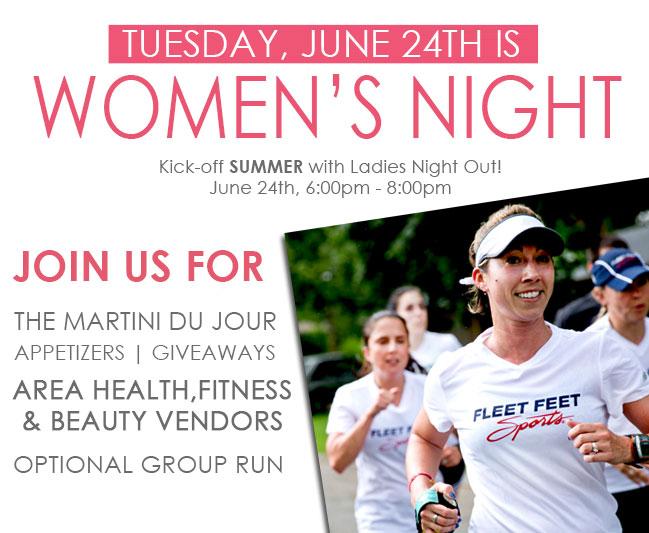 Summer Kick-Off Women's Night